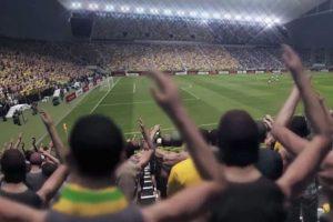 La afición siempre alentando. Foto:Konami. Imagen Por: