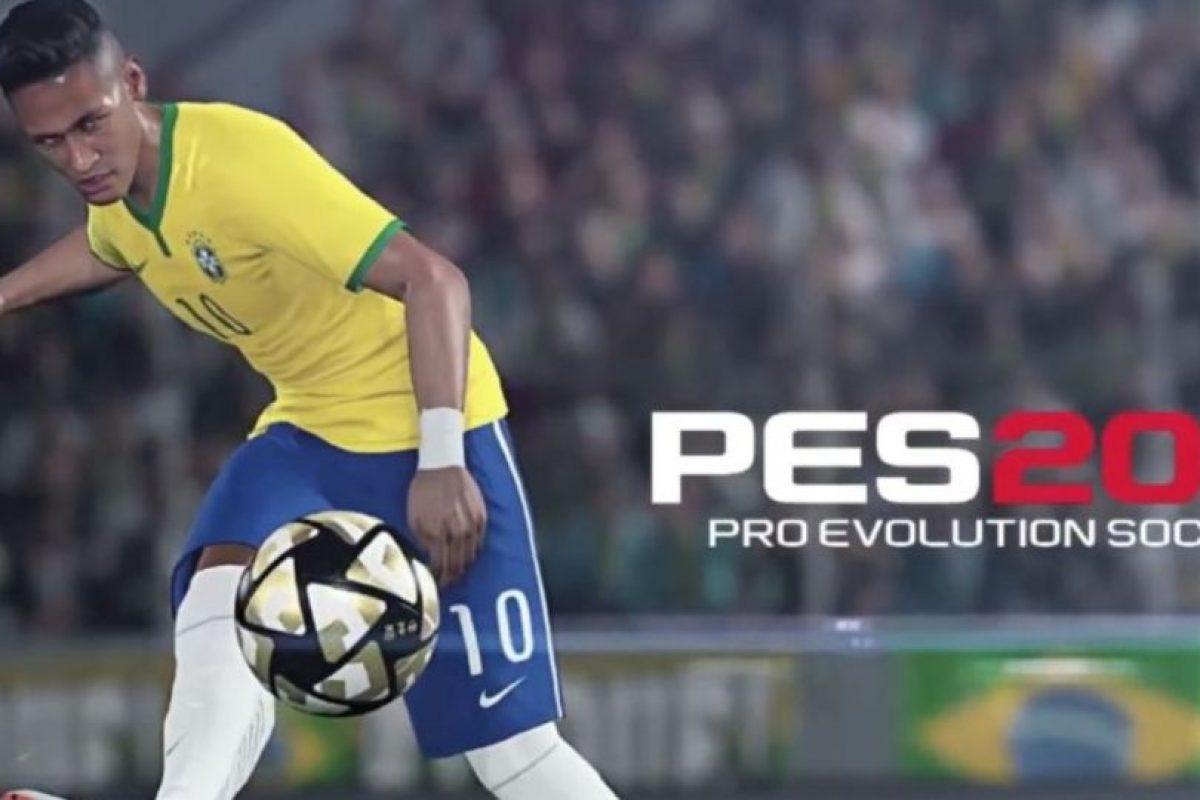 """Neymar, la estrella del """"PES 2016"""". Foto:Konami. Imagen Por:"""