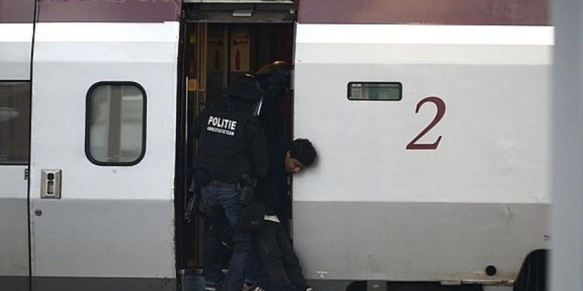 Detenido un hombre que se encerró en el baño de un tren en Rotterdam
