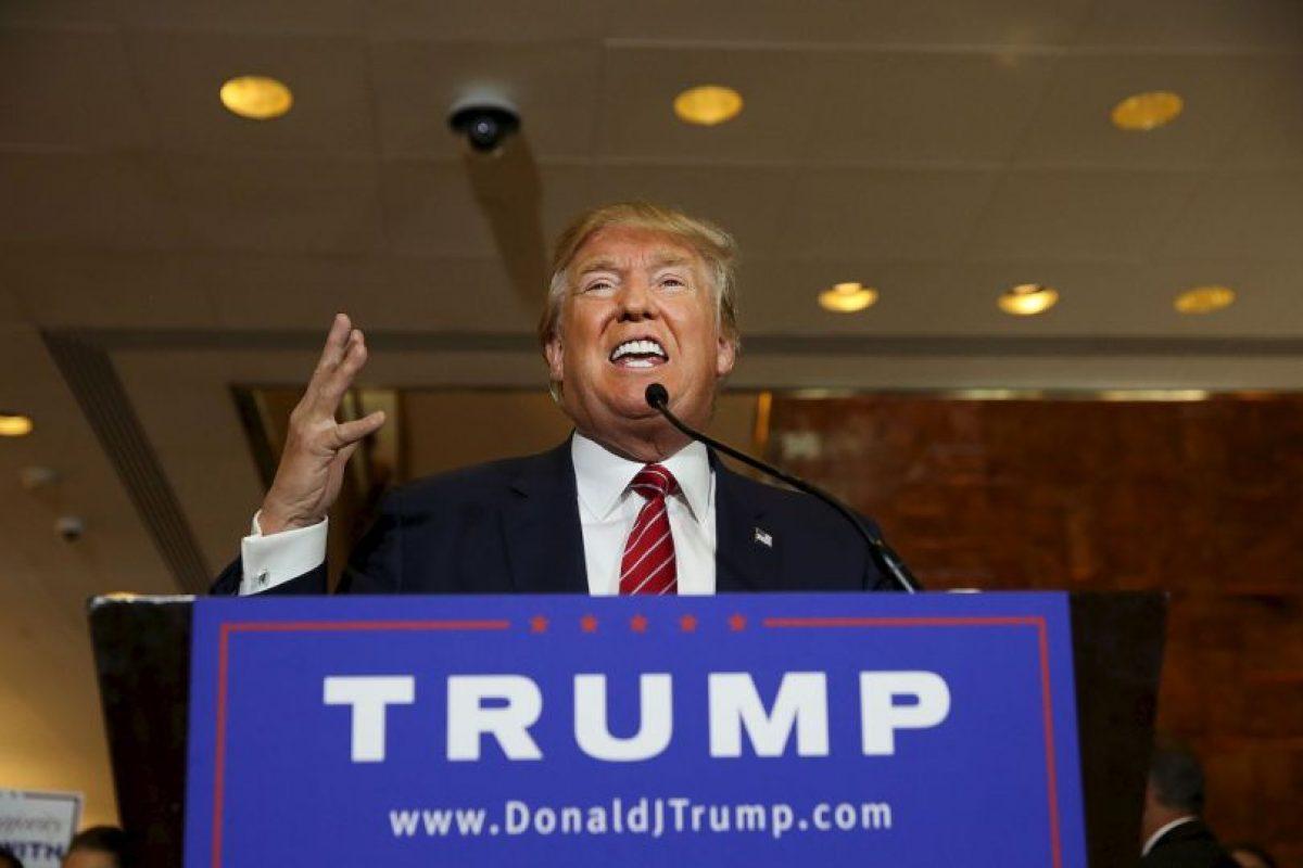 """""""Los buenos regresarán… legalmente"""", Trump sobre la migración. Foto:Getty Images. Imagen Por:"""