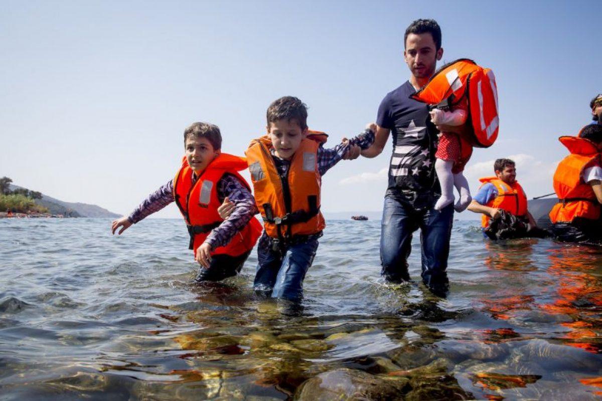 Los refugiados han sido víctimas de brutalidad policiaca en Hungría. Foto:Getty Images. Imagen Por: