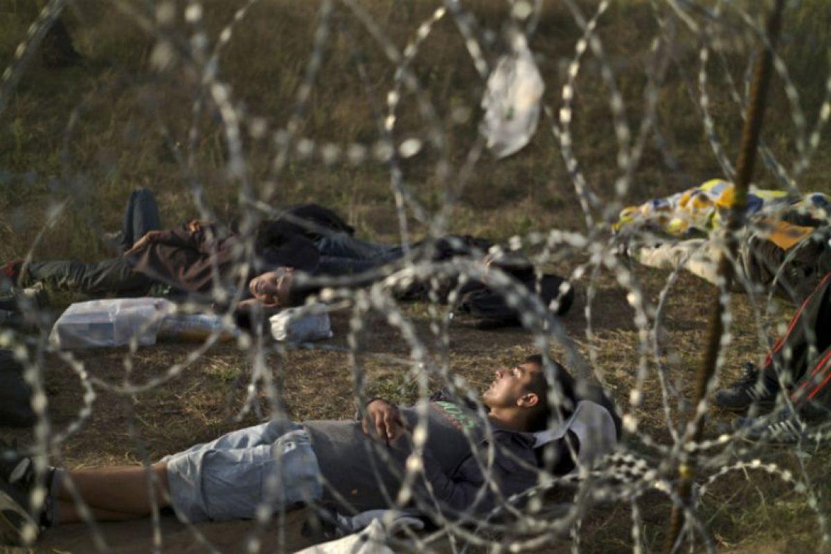 Y que desde el 15 de septiembre cruzar la frontera ilegalmente es un crimen. Foto:AP. Imagen Por: