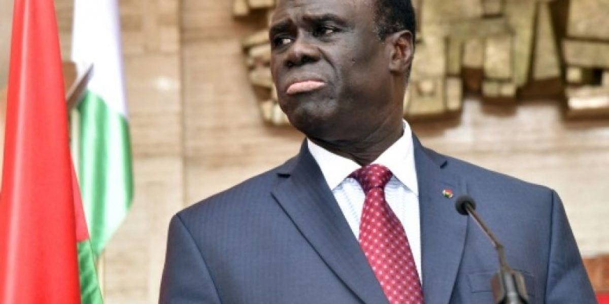 Liberado el presidente de Burkina Faso retenido por los golpistas