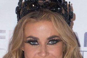 Y Carmen Electra. Foto:vía Getty Images. Imagen Por: