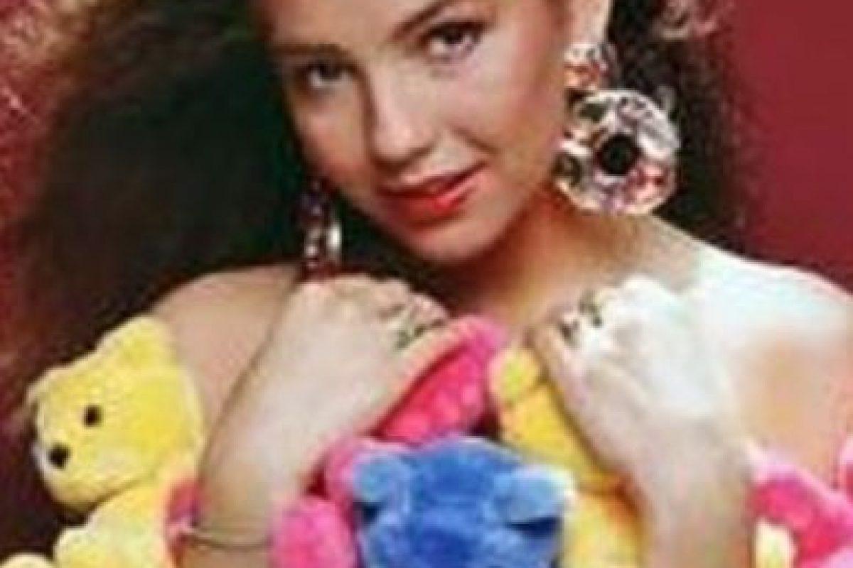 Este vestido de peluches. Foto:vía Canal de las Estrellas. Imagen Por: