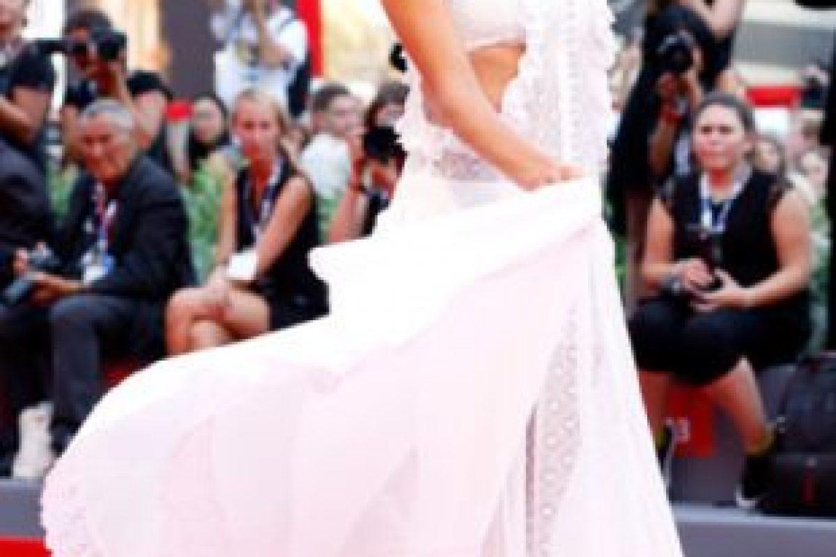 Alessandra Ambrosio en el Festival de Cine de Venecia. Foto:vía Getty Images. Imagen Por: