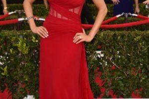 Sofía Vergara con un vestido rojo. Foto:vía Getty Images. Imagen Por: