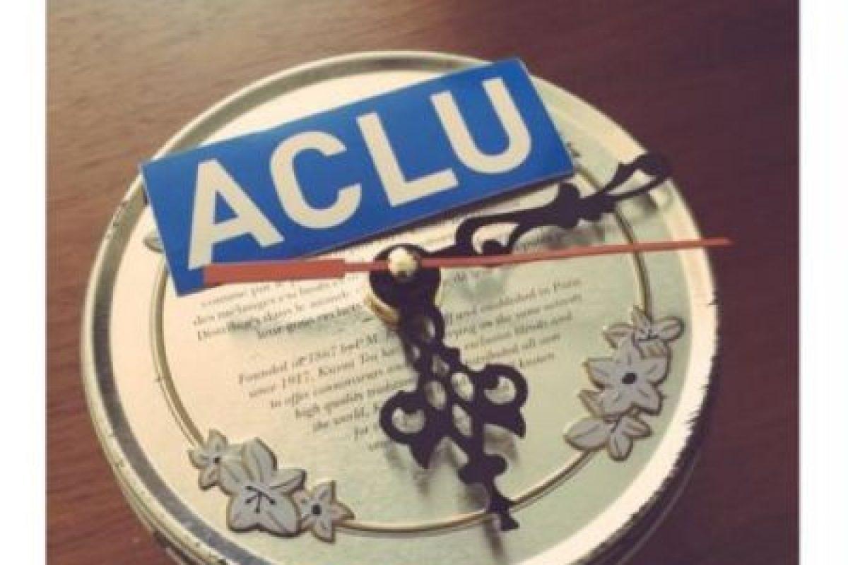 Esto lo publicó la Unión de Libertades Civiles de Estados Unidos. Foto:vía Twitter. Imagen Por: