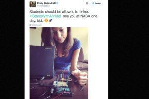"""""""Nos vemos en la NASA algún día"""" Foto:vía Twitter. Imagen Por:"""