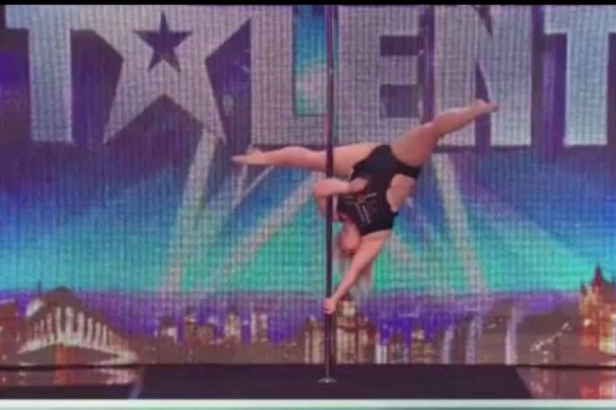 2. Pole dance: Emma Haslam impresionó en Britain´s Got Talent. Pesa 95 kilos. Foto:vía Instagram/jessamynstanley. Imagen Por: