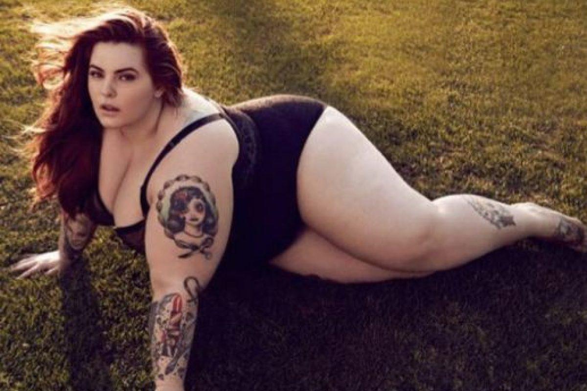 5. Modelar: Las modelos de talla grande ya tienen un espacio conquistado en la moda, pero no tan grandes como Tess Holliday. Foto:vía Facebook/Tess Holliday. Imagen Por: