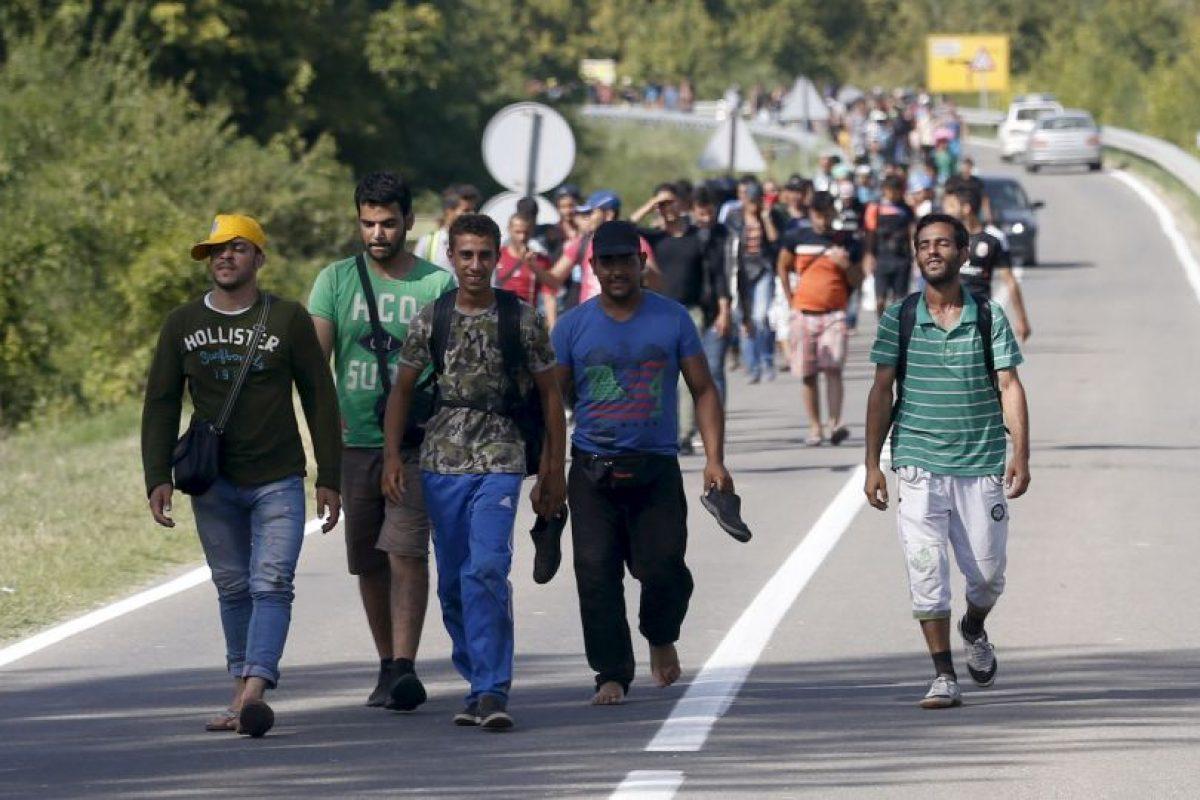 El gobierno cree que los migrantes usaran el país como vía para llegar Alemania Foto:AP. Imagen Por: