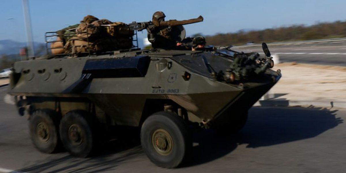 Militares de la V Región se trasladan a zona afectada por tsunami