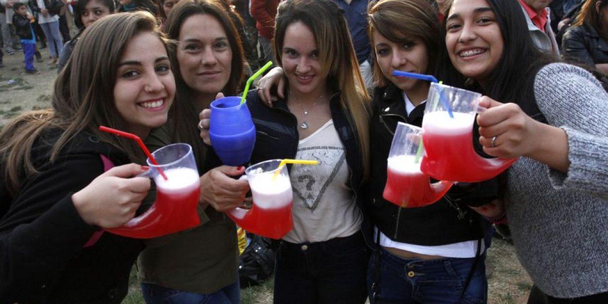 Así celebraron los santiaguinos el primer día de Fiestas Patrias