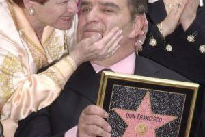 11.- Tiene su propia estrella en el paseo de la fama en Hollywood. Foto:Getty Images. Imagen Por: