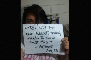 """""""Este será nuestro secreto, nadie necesita saberlo"""" Foto:vía Project Unbreakable. Imagen Por:"""