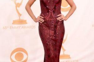 Heidi Klum, como corista en Las Vegas en 1983, pero en 2013. Foto:vía Getty Images. Imagen Por: