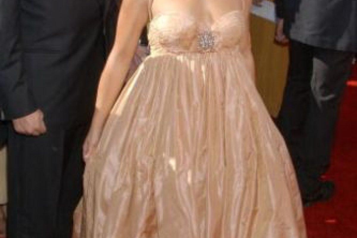 Hayden Panettiere en 2013 con un vestido que le cortaba las piernas. Foto:vía Getty Images. Imagen Por: