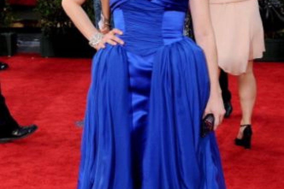 """Sarah Silverman en 2009, con dos """"Tíos Cosa"""" azules en las caderas. Foto:vía Getty Images. Imagen Por:"""