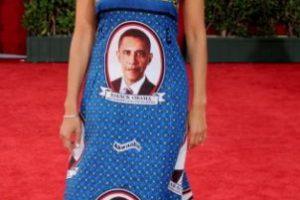 Victoria Rowell en 2009 se vistió con los souvenirs que venden en Washington. Foto:vía Getty Images. Imagen Por:
