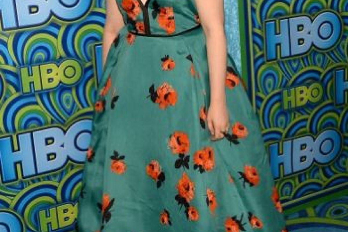 Y Lena Dunham hizo lo mismo un año antes. Un gran mantel. Foto:vía Getty Images. Imagen Por: