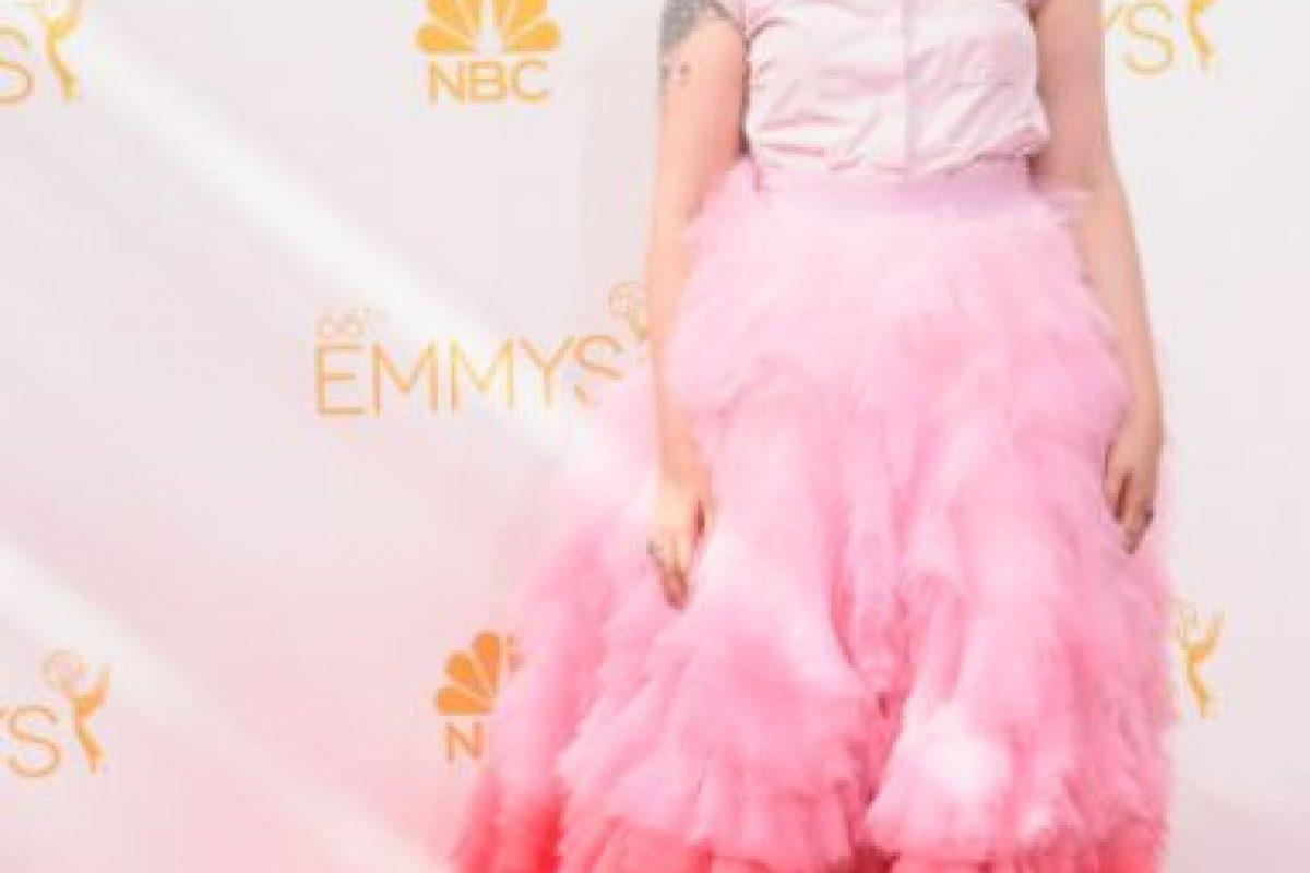 Lena Dunham de lejos es la ganadora. Foto:vía Getty Images. Imagen Por: