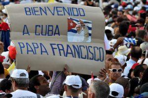 Sus predecesores Juan Pablo II y Benedicto XVI también oficiaron misa en ese lugar. Foto:AFP. Imagen Por: