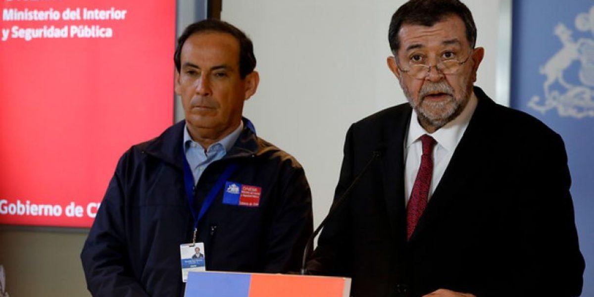 """Aleuy: """"De aquí al viernes esperamos tener catastrada a la población afectada"""""""