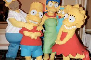 """10.- Este es el primer año que """"The Simpsons"""" no está nominado. Foto:Getty Images. Imagen Por:"""