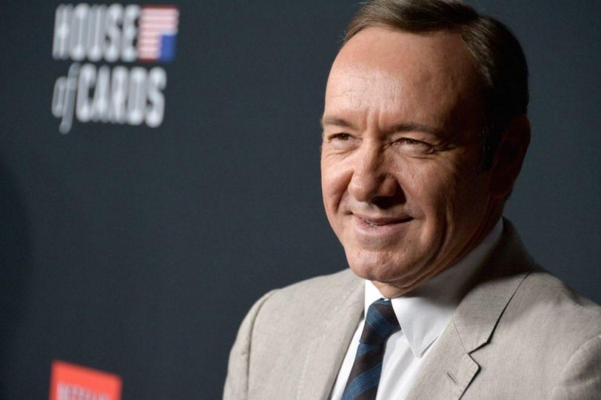 """8.- """"House of Card es la primer serie de internet nominada en los Emmy Foto:Getty Images. Imagen Por:"""