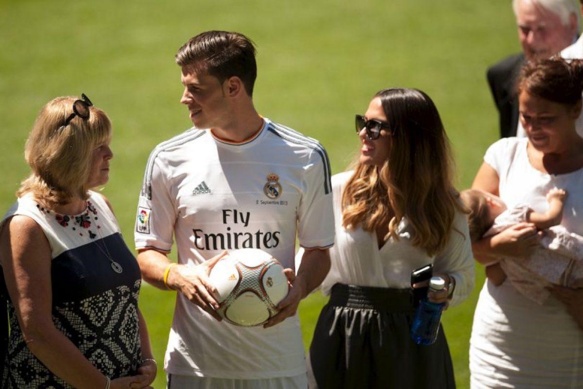 Ella es la discreta esposa de Gareth Bale. Foto:Getty Images. Imagen Por: