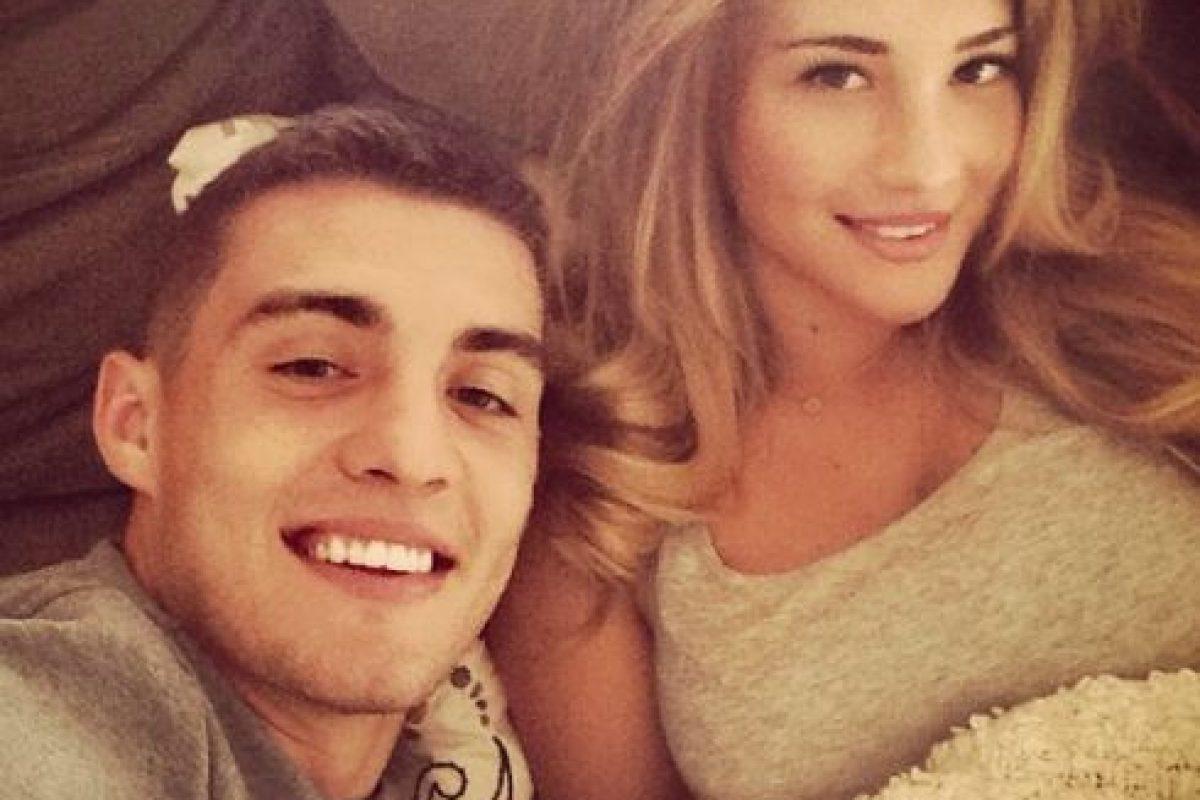 La bella croata es la novia del nuevo fichaje del equipo, Mateo Kovacic. Foto:Vía instagram.com/kovm20. Imagen Por: