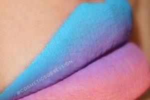 ¿Azul? ¿Verde? ¿Amarillo? ¿Se atreverían a usar estos colores en los labios? Foto:Vía instagram.com/explore/tags/rainbowlips. Imagen Por: