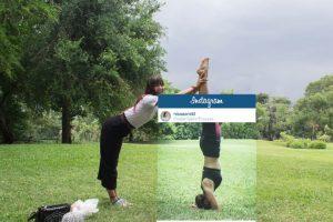 Yoga en un parque cualquiera. Foto:vía Facebook/Chompoo Baritone. Imagen Por: