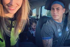 En agosto de este año, la brasileña, madre de la hija de Vargas escribió en su Instagram que había terminado su relación con el chileno. Foto:Vía instagram.com/danibcolett. Imagen Por: