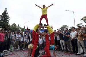 Hubo diversas actividades de entretenimiento. Foto:AFP. Imagen Por:
