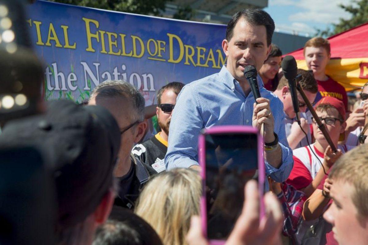 El político formaba parte de los precandidatos del Partido Republicano. Foto:AFP. Imagen Por: