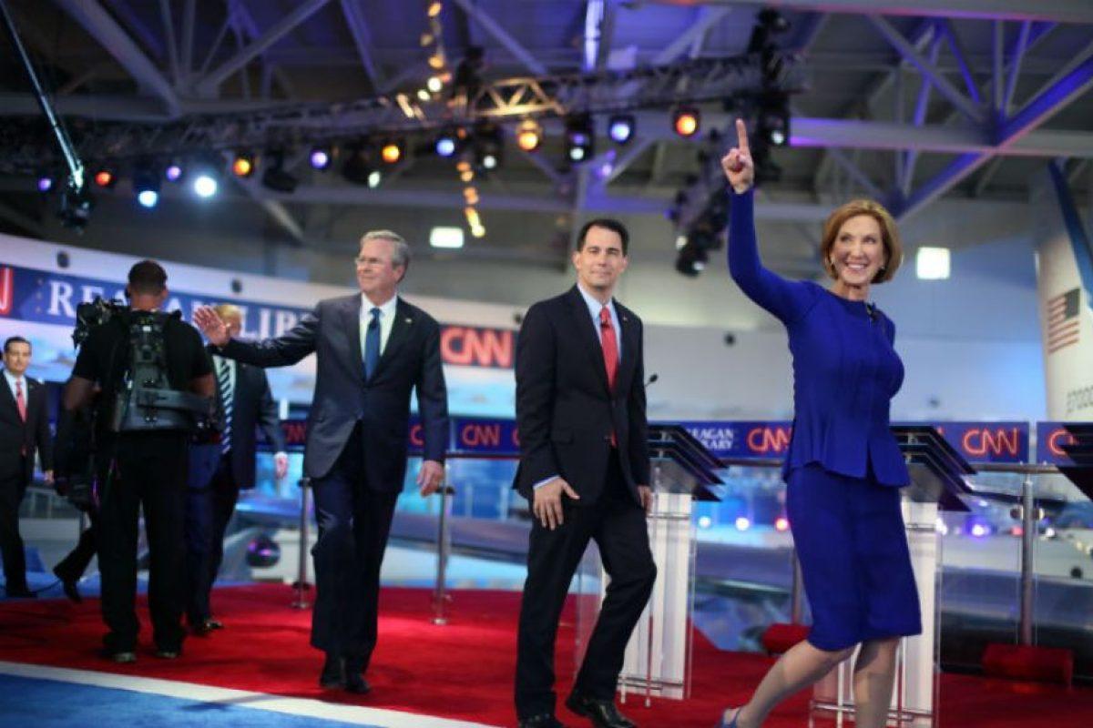 Se ha convertido en una de las favoritas para representar al Partido Republicano. Foto:AFP. Imagen Por:
