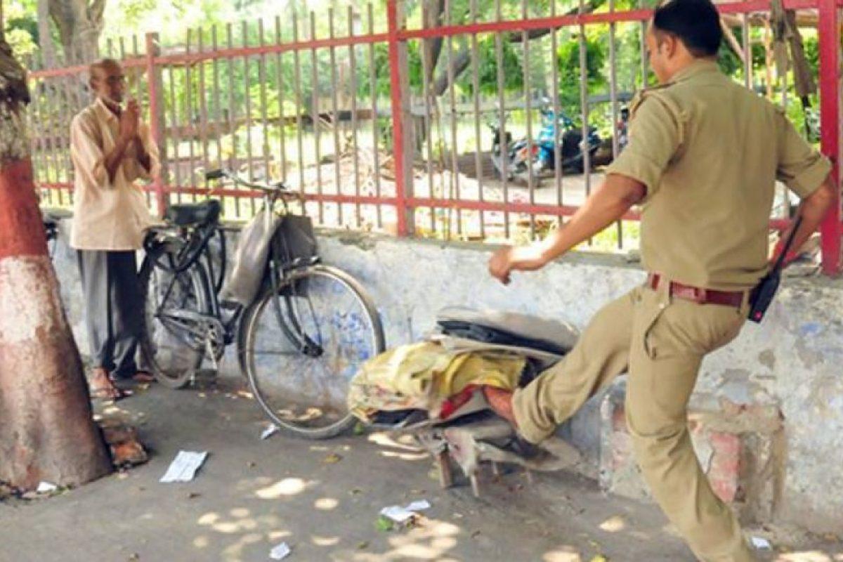 Las imágenes fueron capturadas por Ashutosh Tripath, fotógrafo de Dainik Bhaskar Foto:Vía facebook.com/Kcapturedmoments. Imagen Por: