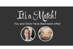 Otros han utilizado la plataforma de Tinder (app para citas) para reírse del caso Foto:Instagram.com. Imagen Por: