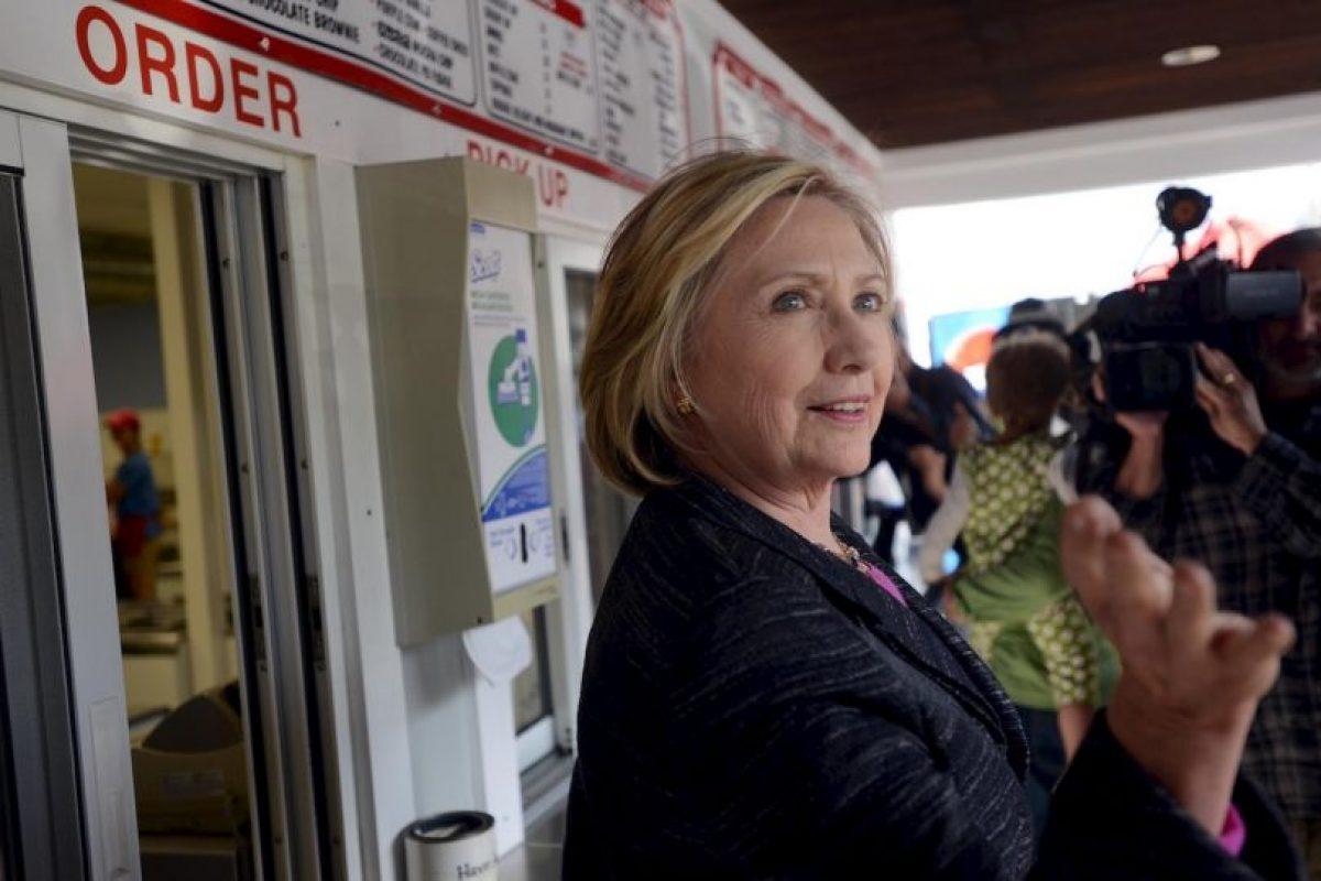 Esto luego del escándalo de los correos electrónicos cuando era Secretaria de Estado. Foto:Getty Images. Imagen Por: