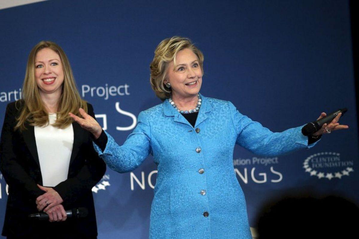 Clinton ha tratado de mejorar su reputación ante el electorado. Foto:Getty Images. Imagen Por: