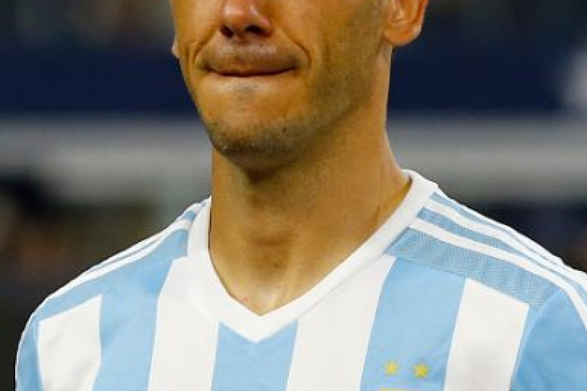 Después del Mundial pasó tijeras por su cabeza y rejuveneció. Foto:Getty Images. Imagen Por: