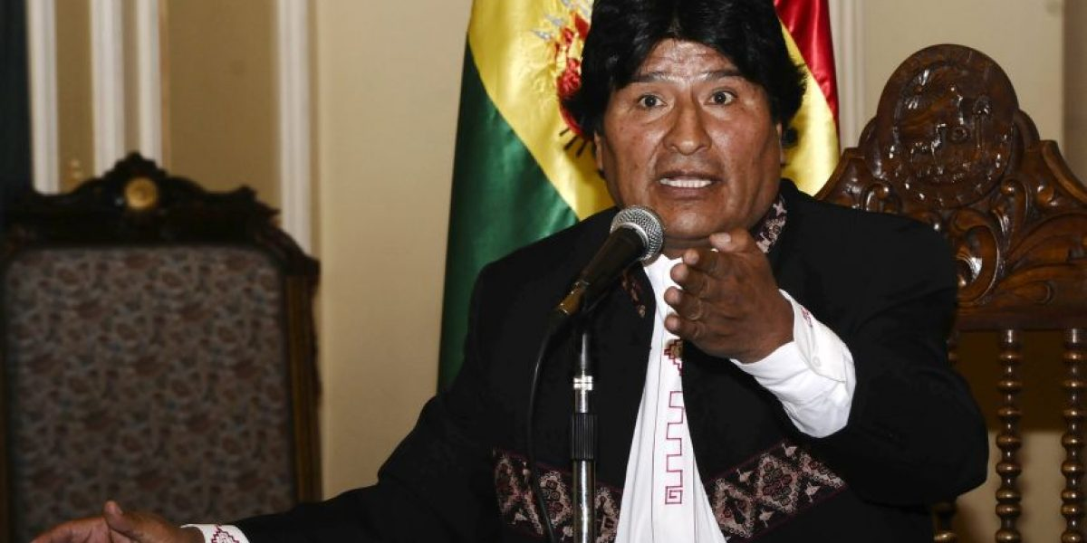 Evo Morales llama a izar la bandera de