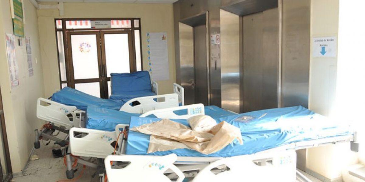 Hospital de Coquimbo gravemente dañado: opera al 60% de su capacidad