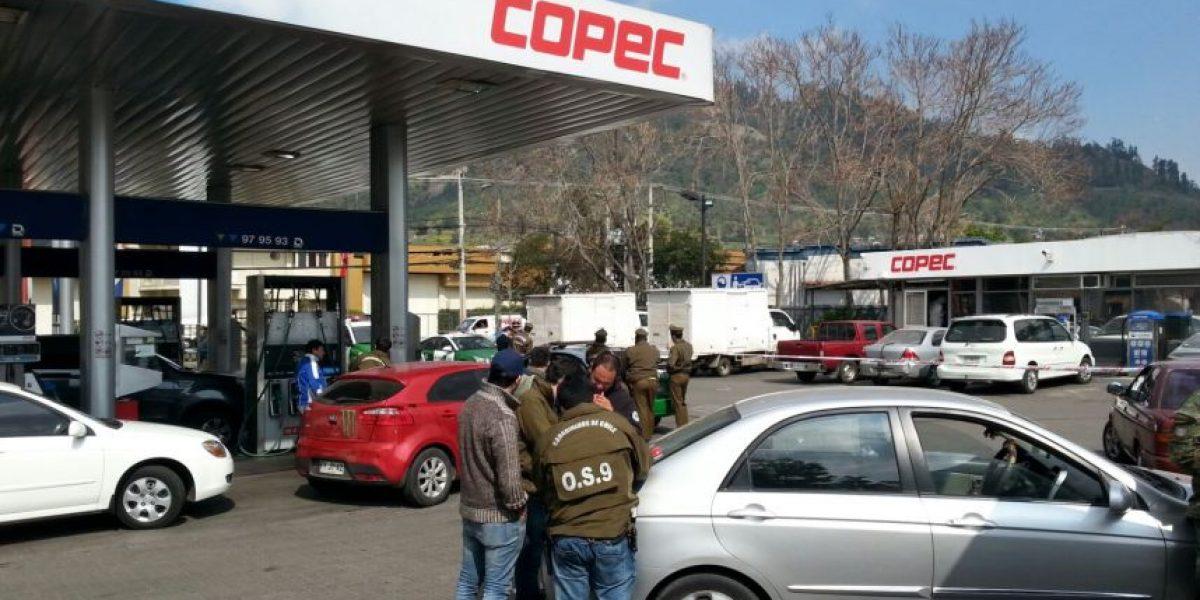 Millonario asalto a servicentro en Recoleta deja una víctima fatal