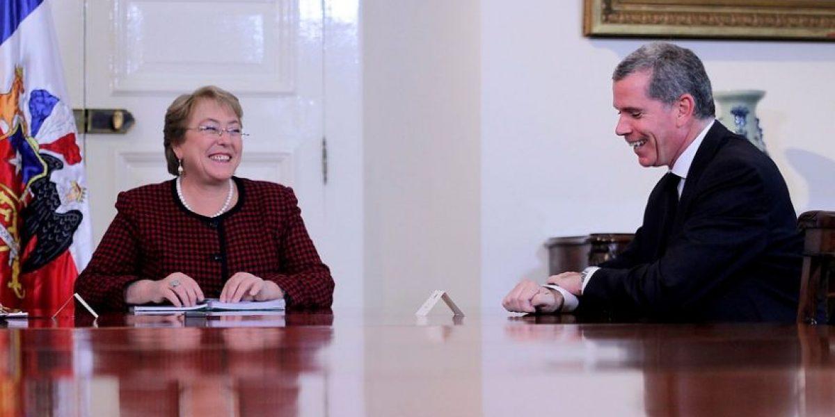 Bachelet se reunirá con Felipe Bulnes en Nueva York tras fallo de La Haya