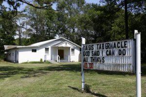 El ataque ocurrió en la Iglesia Oasis Tabernáculo, de la ciudad Selma. Foto:AP. Imagen Por: