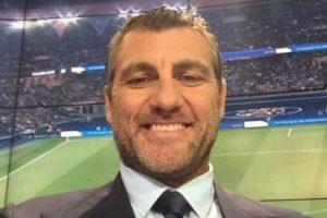 Ahora es comentarista de BEIN Sports. Foto:Vía twitter.com/vieri_bobo. Imagen Por: