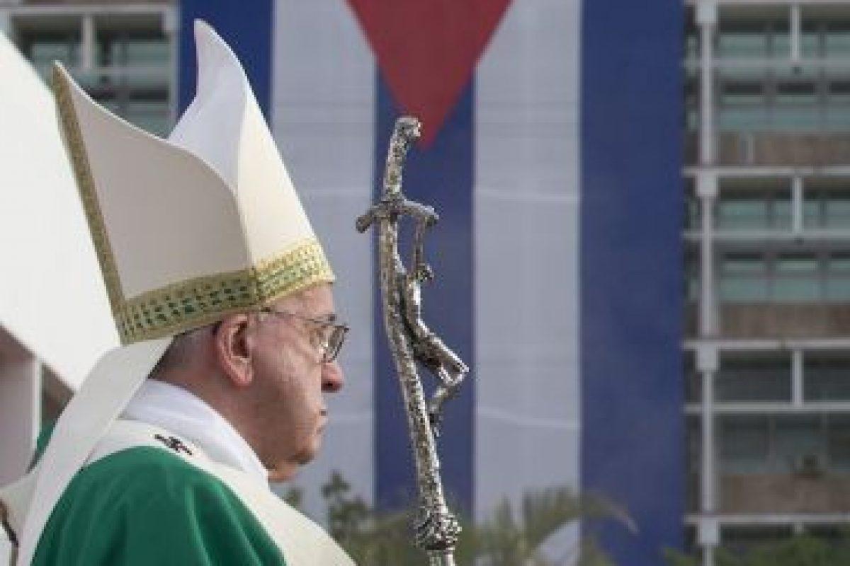 El papa Francisco llegó este sábado 19 a Cuba. Foto:AP. Imagen Por:
